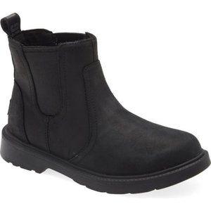 New Ugg Black Bolden Waterproof Chelsea Boot sz 4